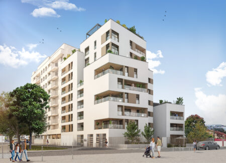 Promgramme immobilier neuf Monchat Lyon 3